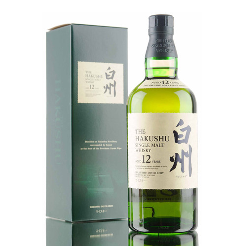 The Hakushu 12 Year Single Malt Japanese Whisky 750mL