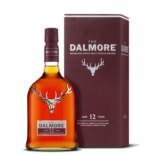 Dalmore 12 Year Old Highland Single Malt Scotch Whisky 750mL