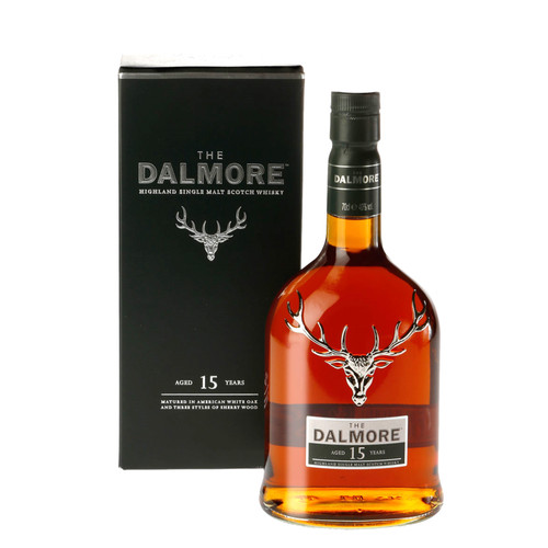 Dalmore 15 Year Old Highland Single Malt Scotch Whisky 750ml