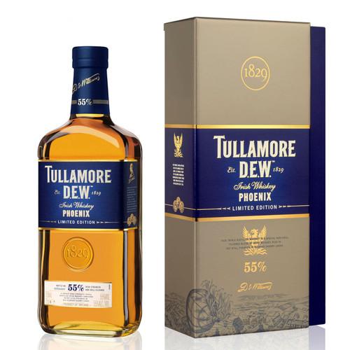 Tullamore D.E.W. Phoenix Limited Edition 55% Irish Whiskey 750mL