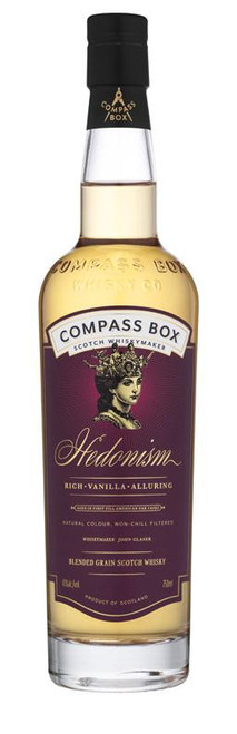 Compass Box Hedonism Blended Grain Scotch Whisky 750mL