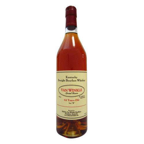 Van Winkle Special Reserve Lot B 12 Year Old Kentucky Straight Bourbon Whiskey 750mL