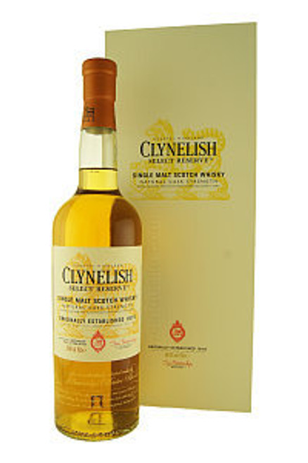 Clynelish Select Reserve Natural Cask Strength Highland Single Malt Scotch Whisky 750mL