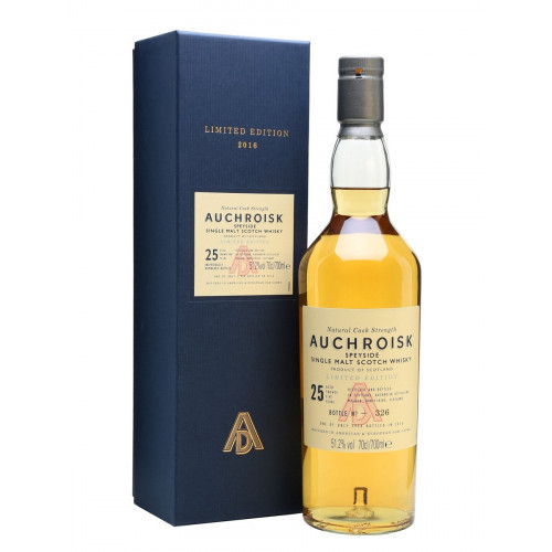Auchroisk Limited Edition 25 Year Old Speyside Single Malt Scotch Whisky 750mL