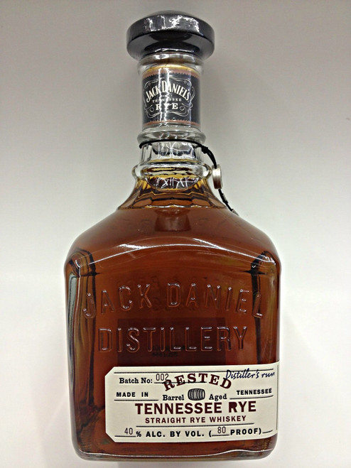 Jack Daniel's Rested Rye Tennessee Whiskey 750mL