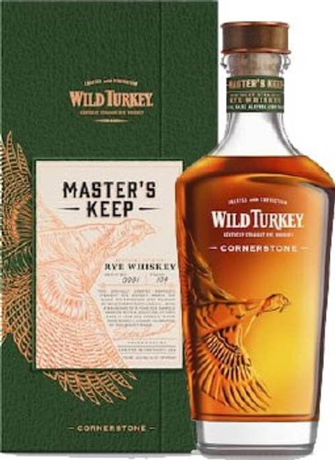 Wild Turkey Master's Keep Cornerstone Rye Whiskey 750mL