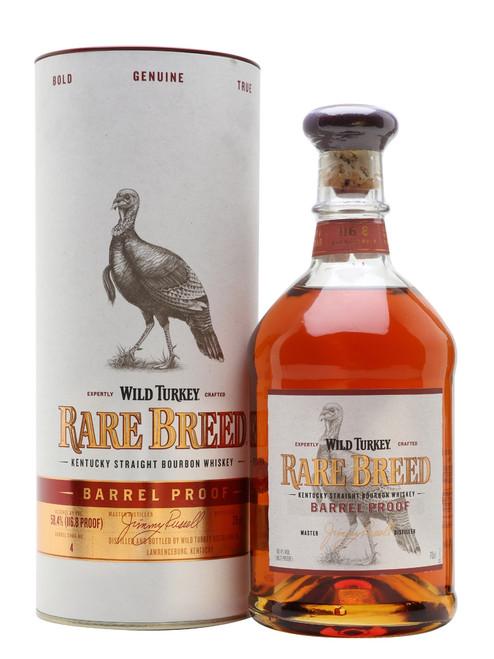 Wild Turkey Rare Breed Barrel Proof Bourbon Whiskey 750mL