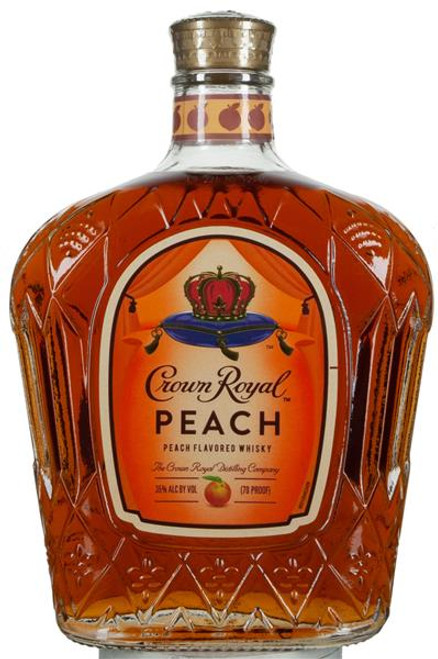 Crown Royal Peach Peach Flavored  Canadian Whisky 750mL