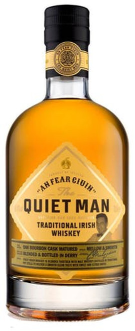 The Quiet Man Traditional Blended Irish Whiskey 750mL
