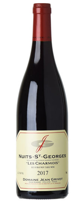 "Domaine Jean Grivot 2017 Nuits-St-Georges ""Les Charmois"" Red Burgundy Table Wine 750mL"
