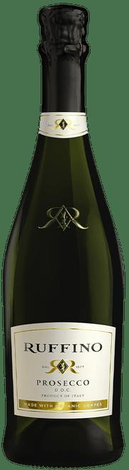 Ruffino Prosecco DOC Made With Organic Grapes White Sparkling Wine 750mL