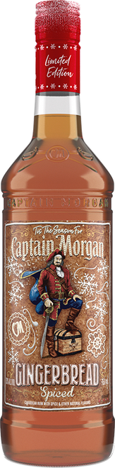 Captain Morgan Limited Edition Gingerbread Spiced Rum 750mL