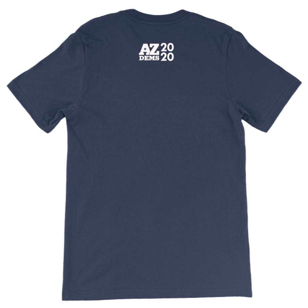 AZ - Caucus Free (Unisex Navy Tee)