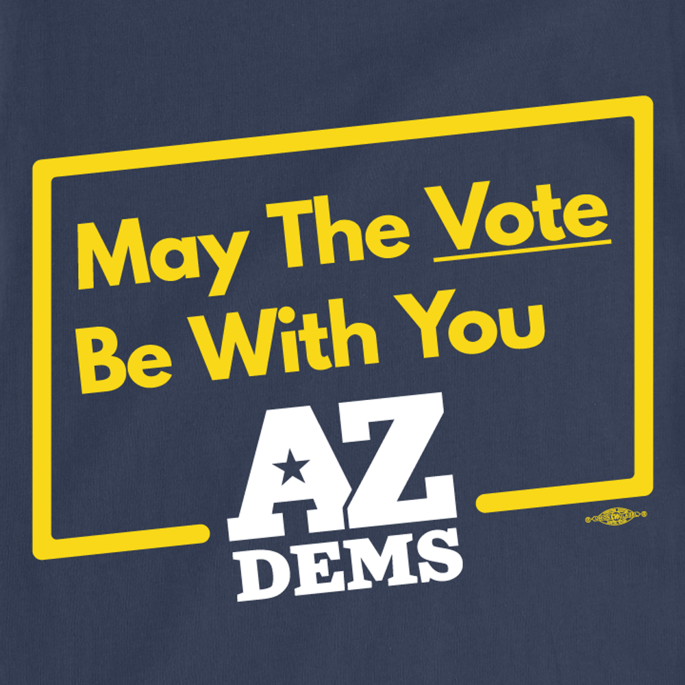 May The Vote Be With You (Unisex Navy Tee)
