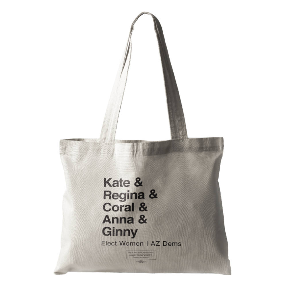 Elect Women - Mayors (Natural Canvas Tote)