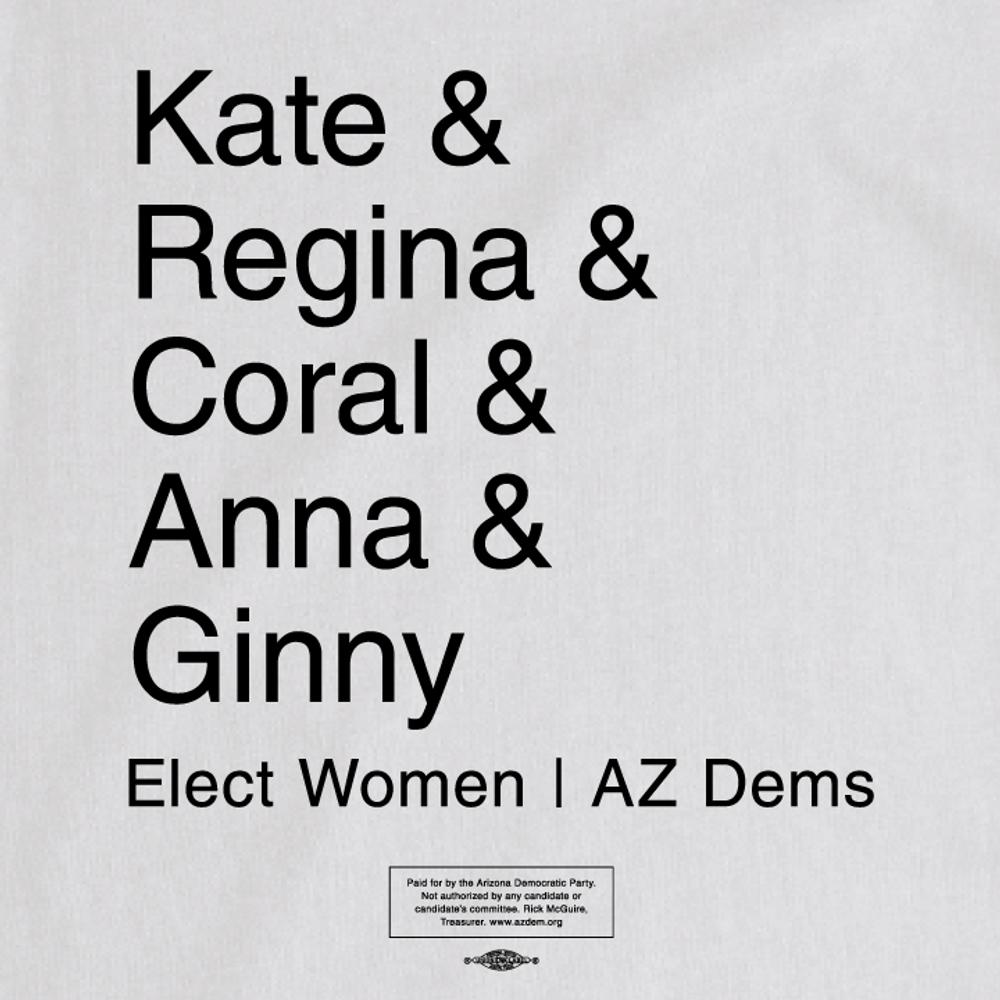 Elect Women - Mayors (Ladies White Tee)