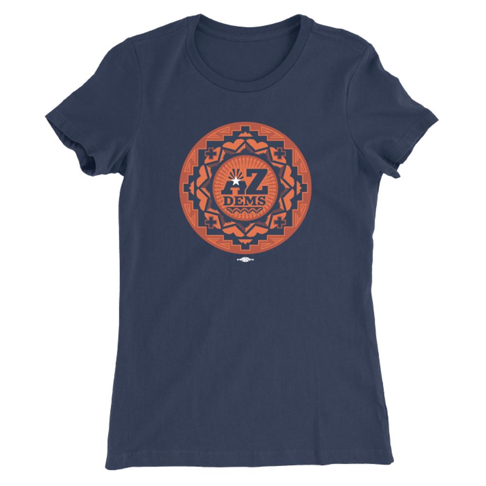 Native Vote (Ladies Navy Tee)