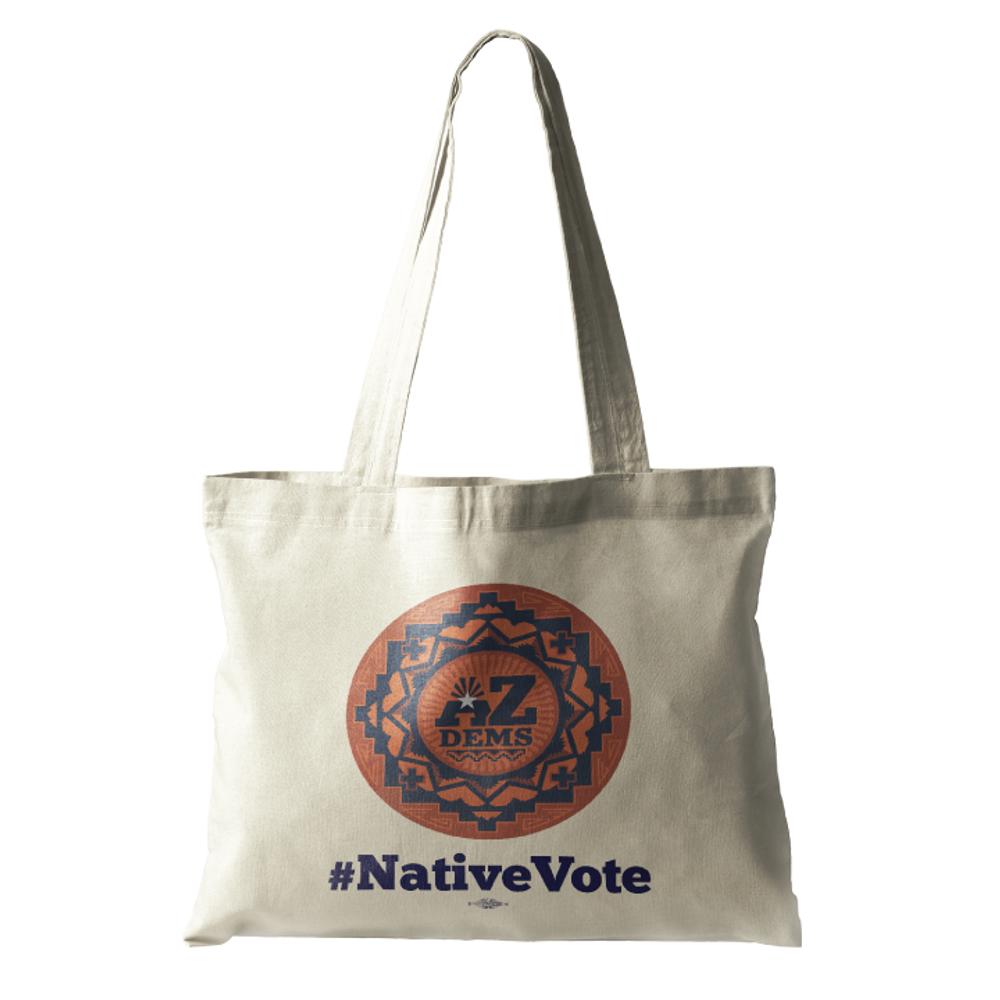 Native Vote (Natural Canvas Tote)