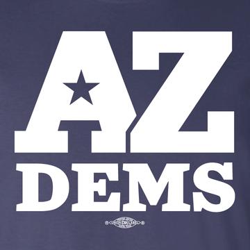Arizona Democratic Party Official Logo (Unisex Navy Tee)
