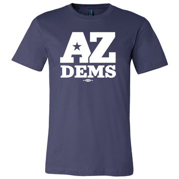 Arizona Democratic Party Official Logo (Unisex Navy Tee)