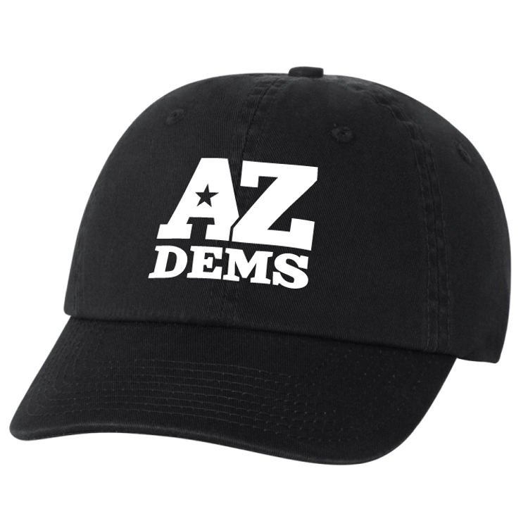 Arizona Democratic Party Official Logo (Black Baseball Cap)