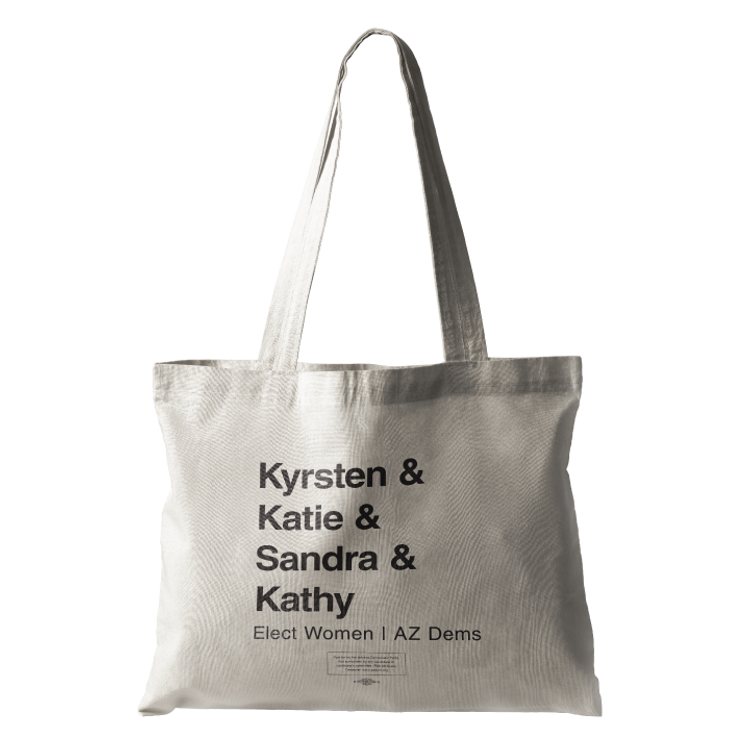 Elect Women - Statewide (Natural Canvas Tote)