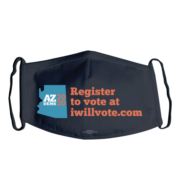 Register To Vote (Black Mask)
