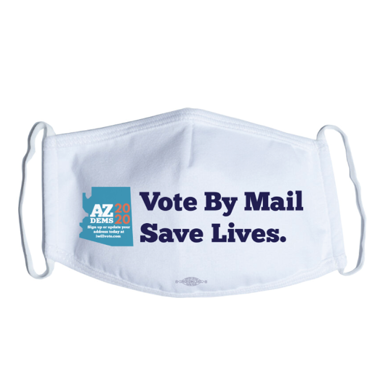 Vote By Mail (White Mask)