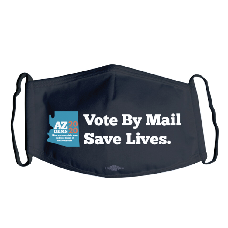 Vote By Mail (Black Mask)