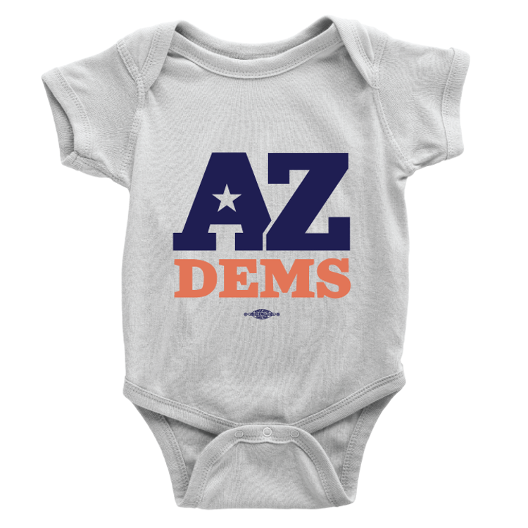 Arizona Dems (Unisex White Onesie)