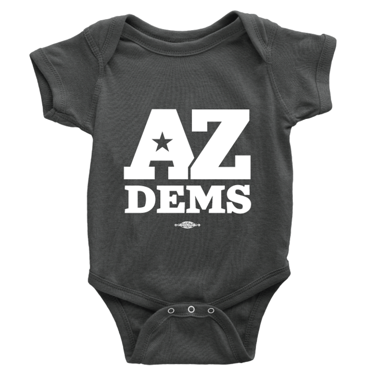 Arizona Dems (Unisex Black Onesie)