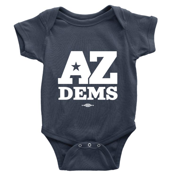 Arizona Dems (Unisex Navy Onesie)