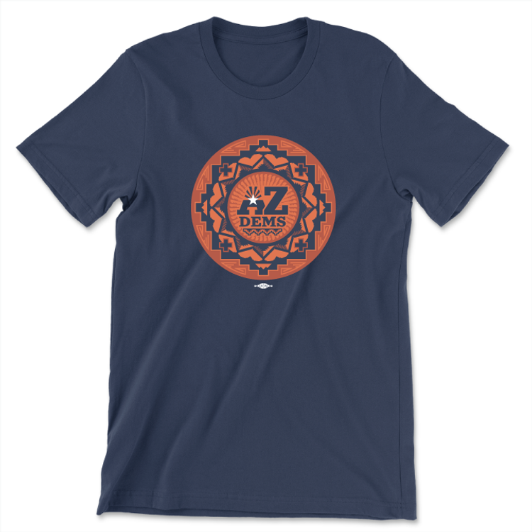 Native Vote (Unisex Navy Tee)