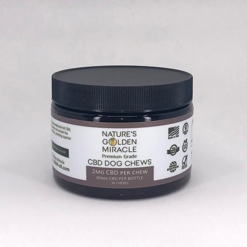 CBD Dog Treats - THC FREE - 30 Treats per jar