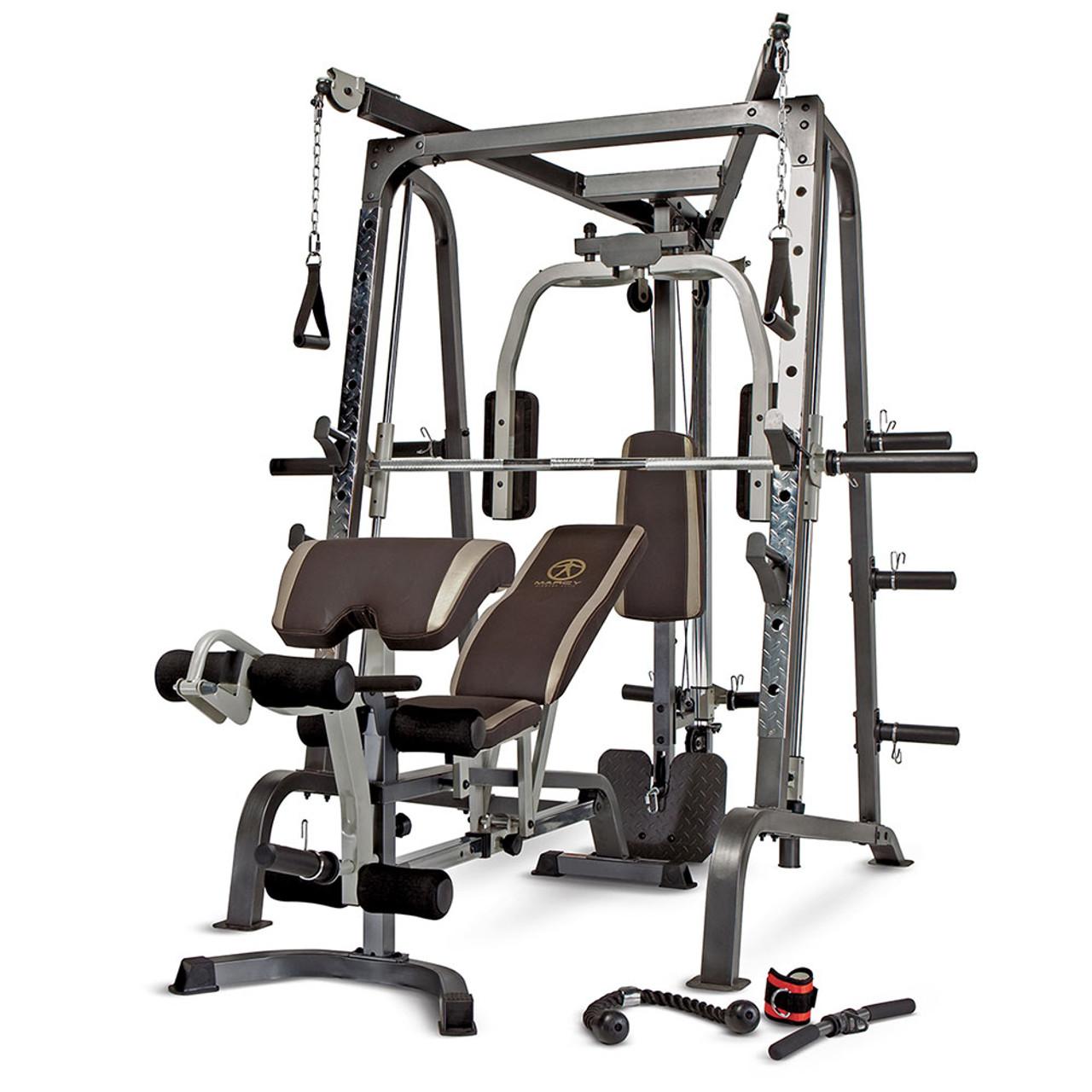 The best quality brand smith machine home gym md 9010g marcy pro