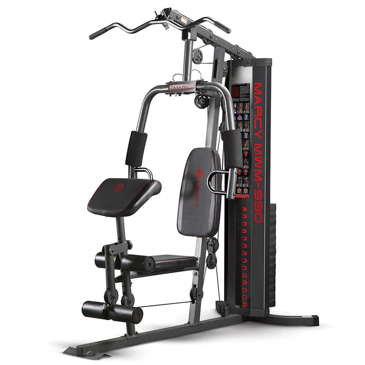 Buy the best home gym marcy 150lb stack mwm 990 marcypro.com