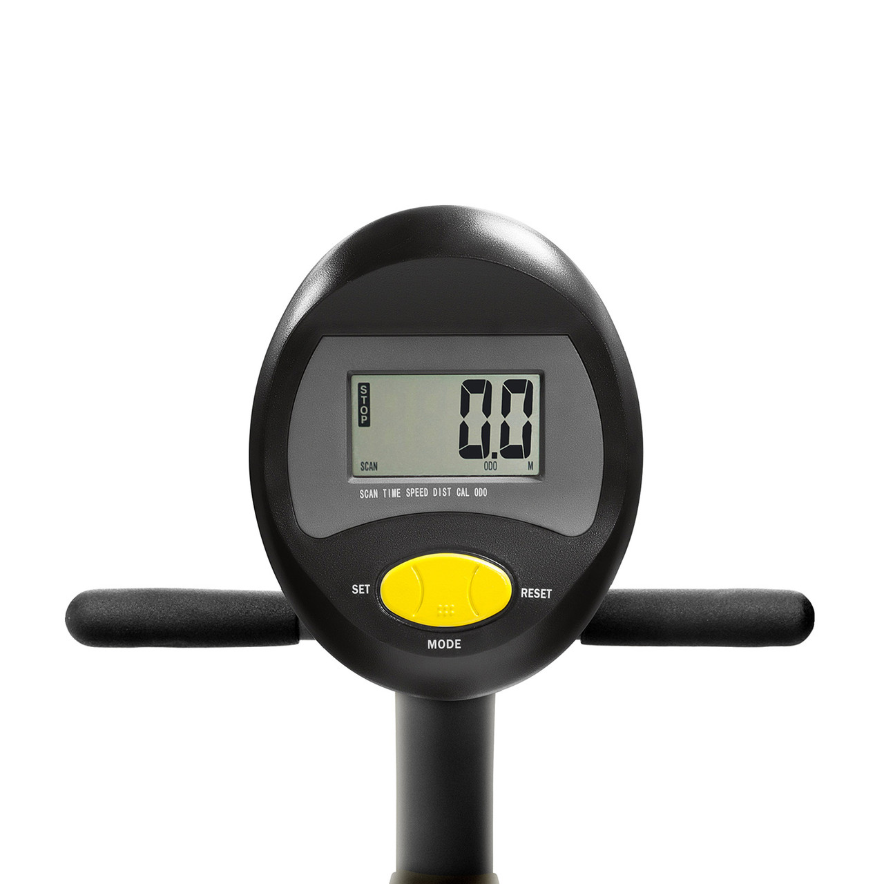 The Marcy Recumbent Magnetic Cycle NS-716R  includes a display screen so you can easily monitor your workout progress