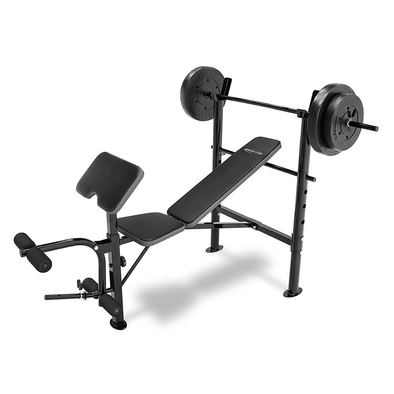 Weight Benches Bench Set For Sale Mesmerizing With Ebay: Competitor Combo Bench W/ 80lb Weight Set Quality Strength