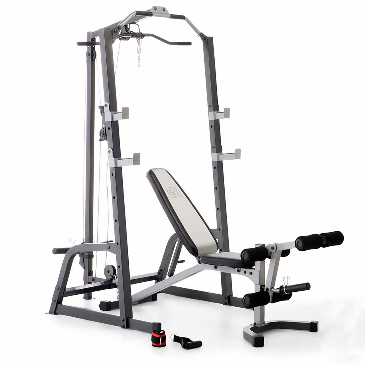 Marcy Deluxe Cage System With Weight Lifting Bench Pm 5108