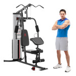 Marcy Home Gym System 150lb Weight Stack Machine  MWM-988 - With Model