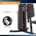 The Marcy 150 lb Stack Home Gym MWM-990