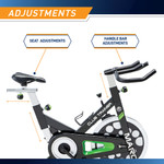 The Marcy Revolution Cycle XJ-3220 - Adjustable Seat - Handlebars