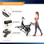 The Marcy Revolution Cycle XJ-3220 - Water Bottle Holder - Leveler - Transport Wheels