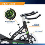 The Marcy Revolution Cycle XJ-3220 - Adjustable Resistance - Quick Stop - Flywheel