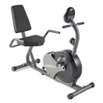 The Marcy Recumbent Magnetic Cycle NS-716R delivers a high intensity cardio workout in the comfort of your home gym