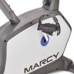 The Marcy Magnetic Resistance Upright Bike NS-1201U has pedal loops for added safety