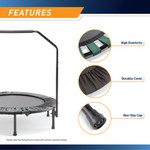 The Cardio Trampoline Trainer ASG-40 by Marcy - Durable-Reliable