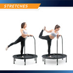 The Cardio Trampoline Trainer ASG-40 by Marcy - Stretches