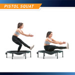 The Cardio Trampoline Trainer ASG-40 by Marcy - Pistol Squat