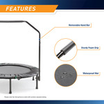 The Cardio Trampoline Trainer ASG-40 by Marcy - Waterproof-and-Hand-Grip
